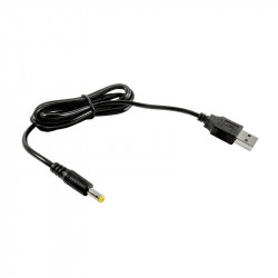 Кабель DC на USB для зарядки через подставку для терминалов UROVO i3000/i3100/i6100/i6200/v5100/v5000 Cable for charging (DC with USB)