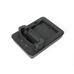 Кредл HBC6300 (для зарядки в защитном чехле) для UROVO i6300 (Cradle with extra slot for battery) с доп. слотом для заряда запасного аккумулятора
